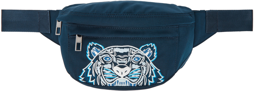 Blue Small Kampus Tiger Belt Bag