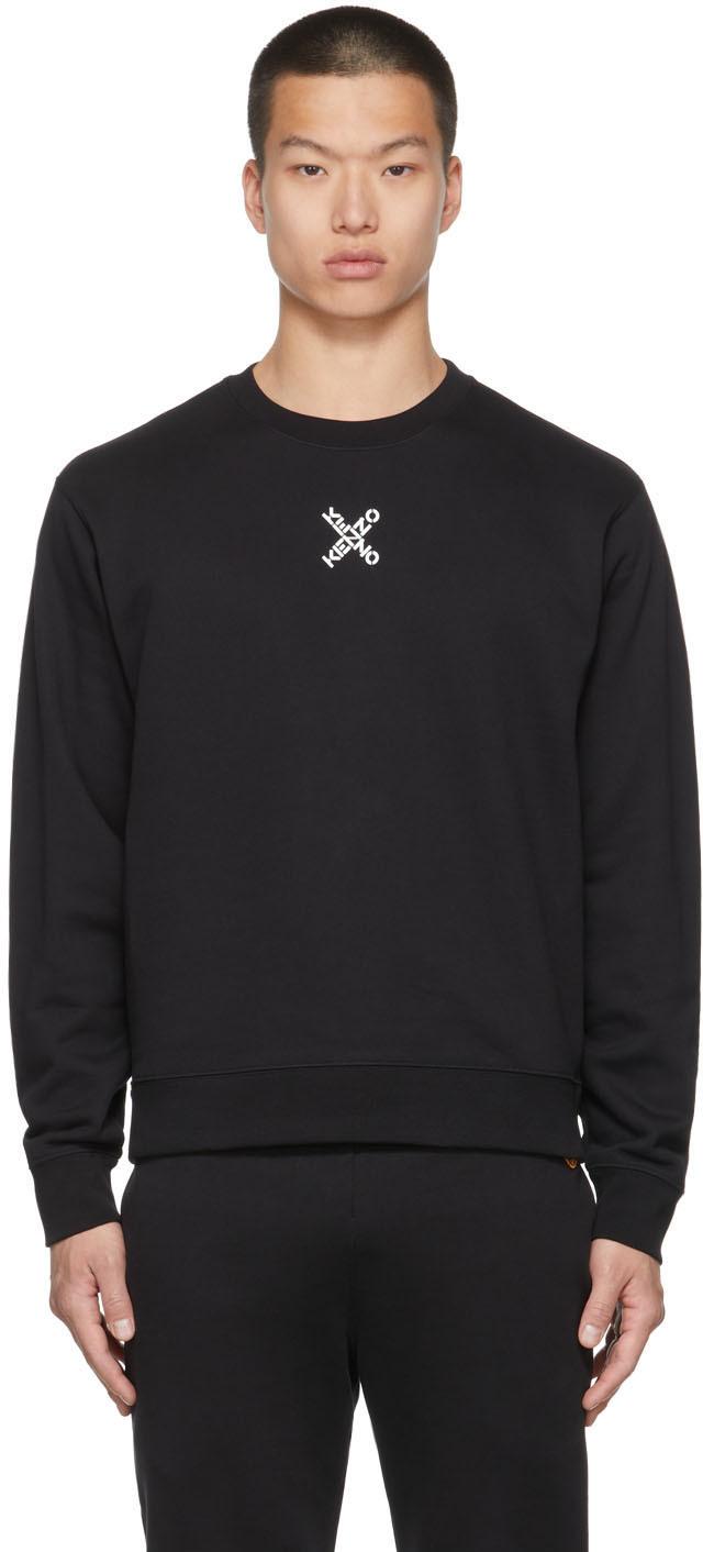 Black Sport Little X Sweatshirt