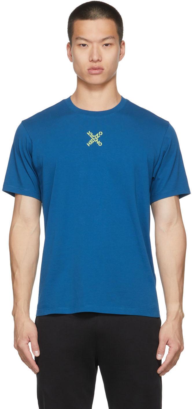 Blue Sport Little X T-Shirt