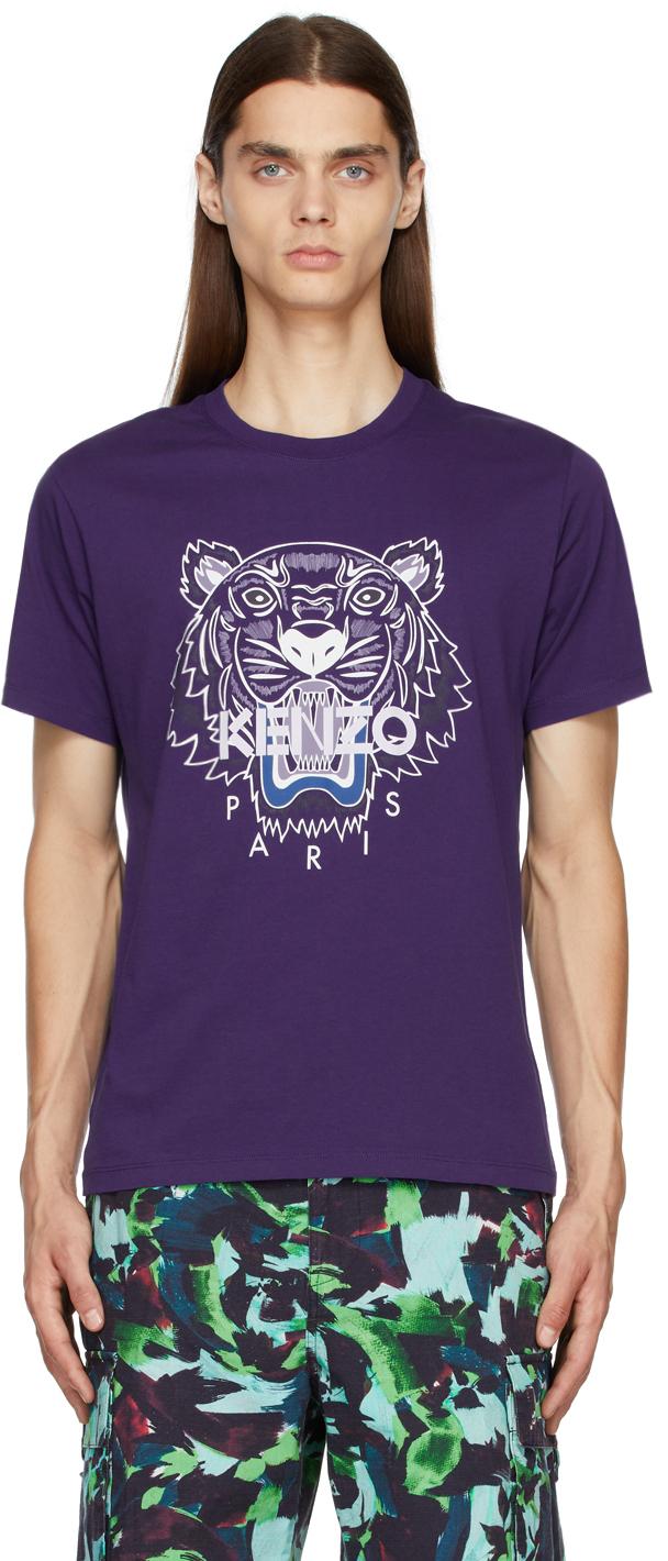 Purple Tiger Classic T-Shirt