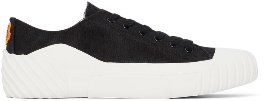 Black Tiger Crest Sneakers