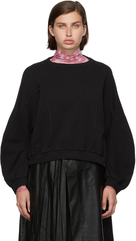 Black Funnel Organic Cotton Sweatshirt