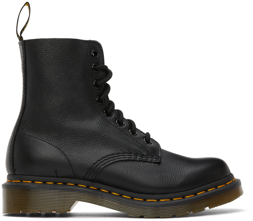 Black 1460 Pascal Boots