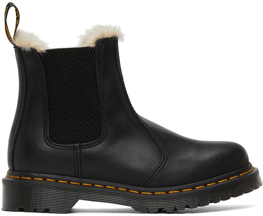 Black Faux-Fur 2976 Lenore Boots