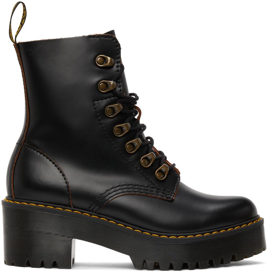 Black Leona Boots