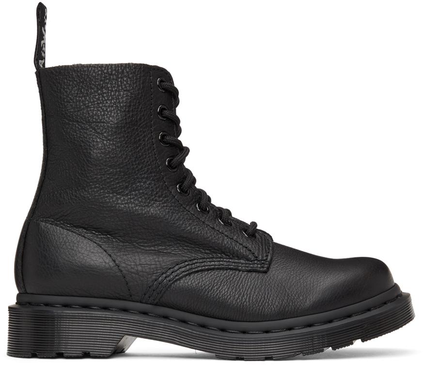 Black Nubuck 1460 Pascal Boots