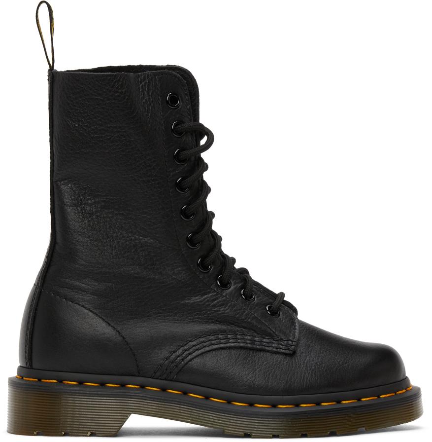 Black Virginia Mid-Calf Boots