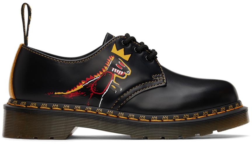 Black Jean-Michel Basquiat Edition 1461 Derbys