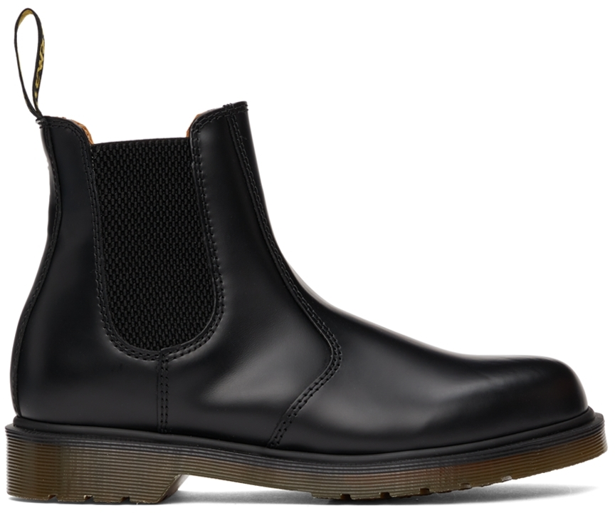 Black Smooth 2967 Chelsea Boots