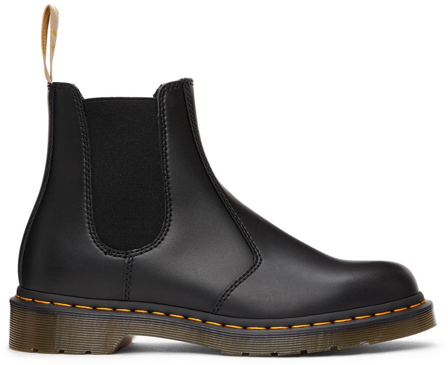Black Vegan 1460 Felix Chelsea Boots