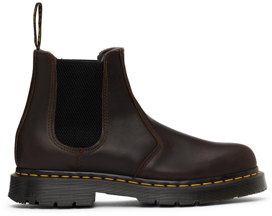 Brown 2976 DM's WIntergrip Chelsea Boots