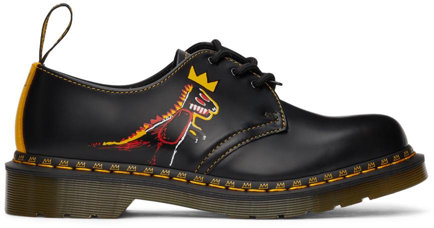 Black Jean-Michel Basquiat Edition 1461 Basquiat II Derbys