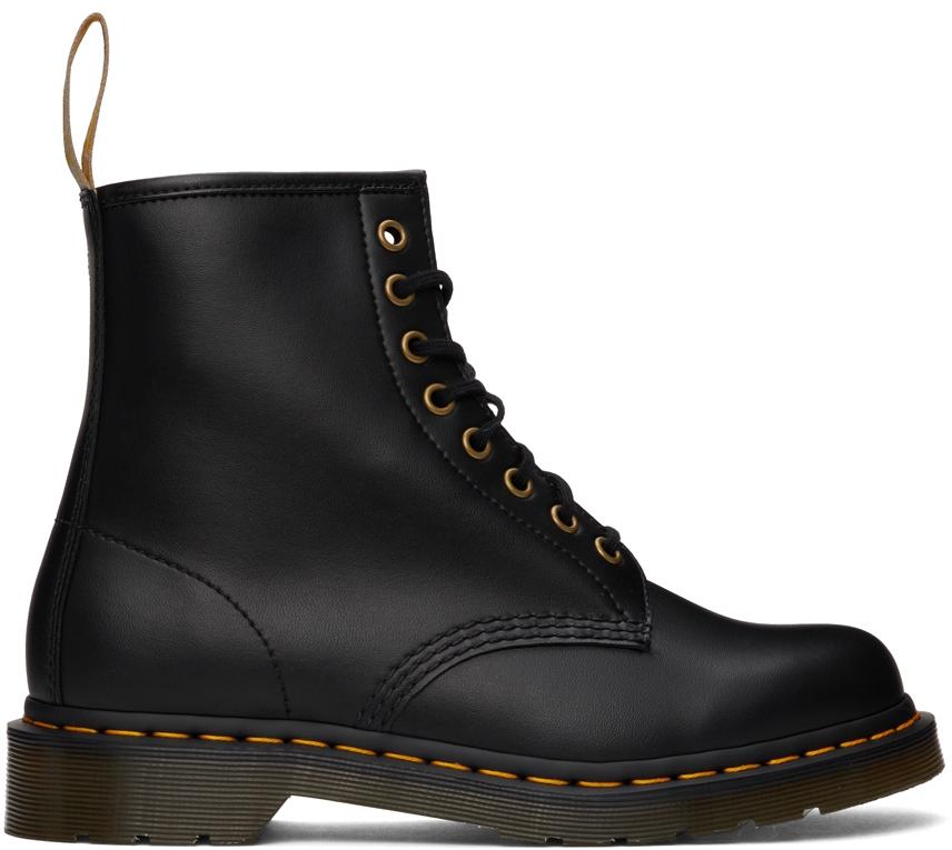 Black Vegan 1460 Felix Lace-Up Boots