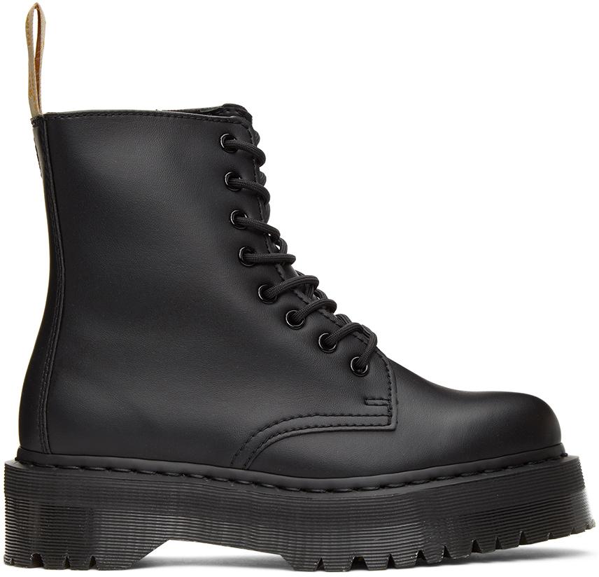 Black Vegan Jadon 2 Mono Platform Boots