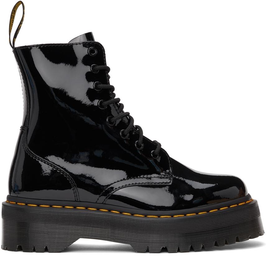 Black Patent Jadon Boots
