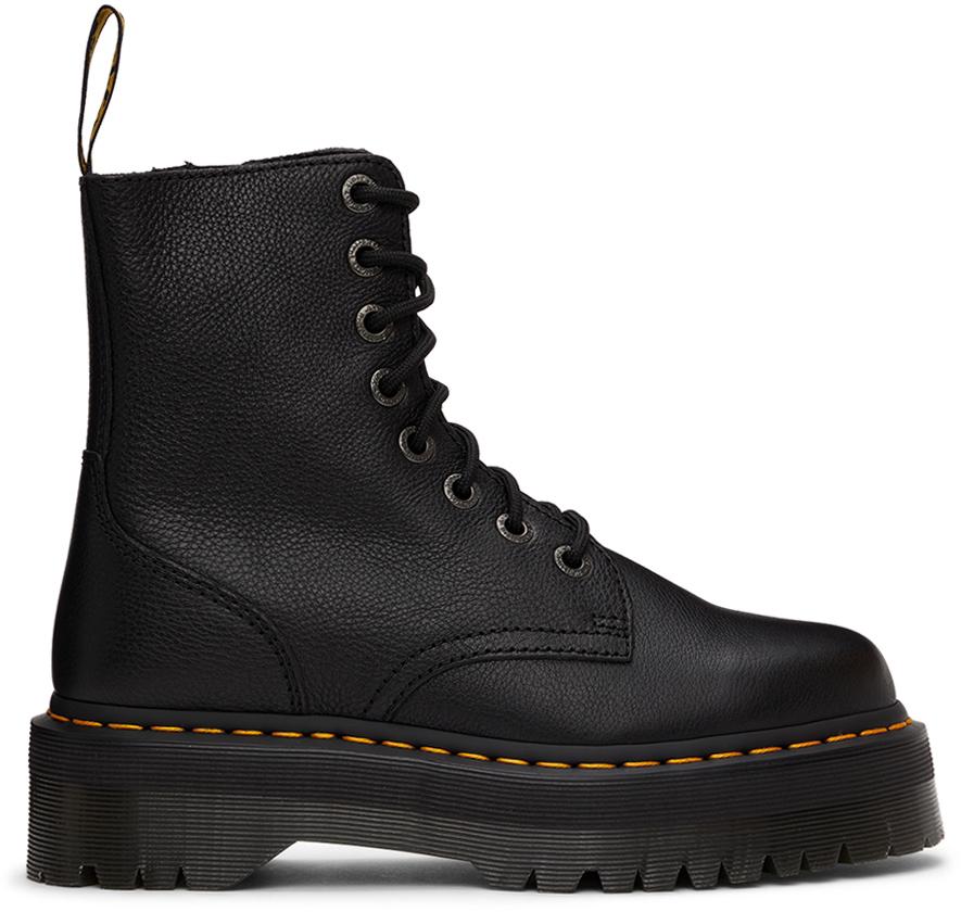 Black Pisa Jadon Platform Boots