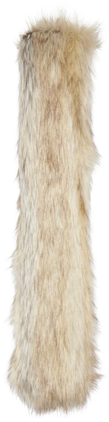 Faux Fox Scarf