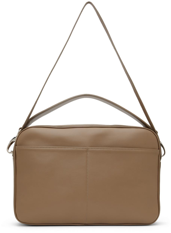 Leather Parcel Bag