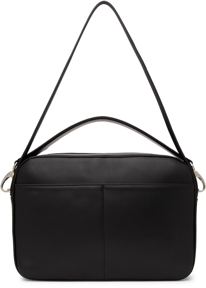 SSENSE Exclusive Parcel Leather Messenger Bag
