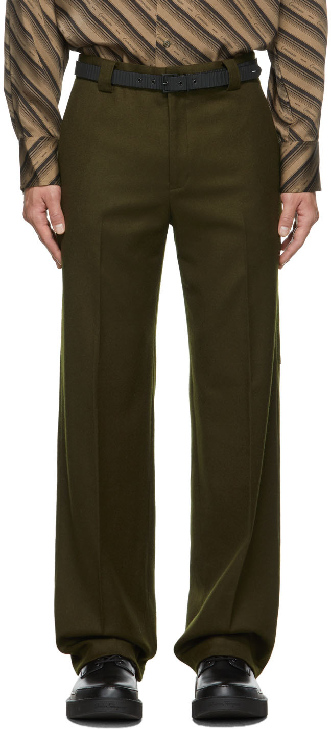 SSENSE Exclusive Wool Carpenter Tailored Trousers