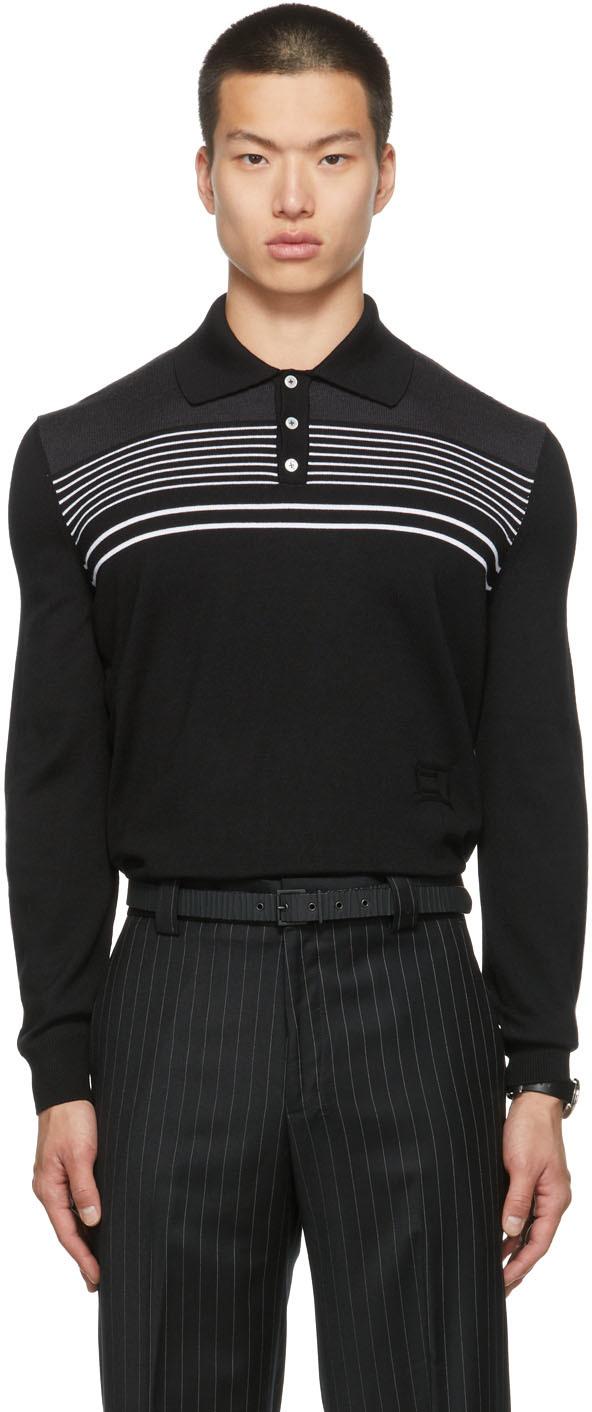 SSENSE Exclusive Merino Wool Dad Long Sleeve Polo