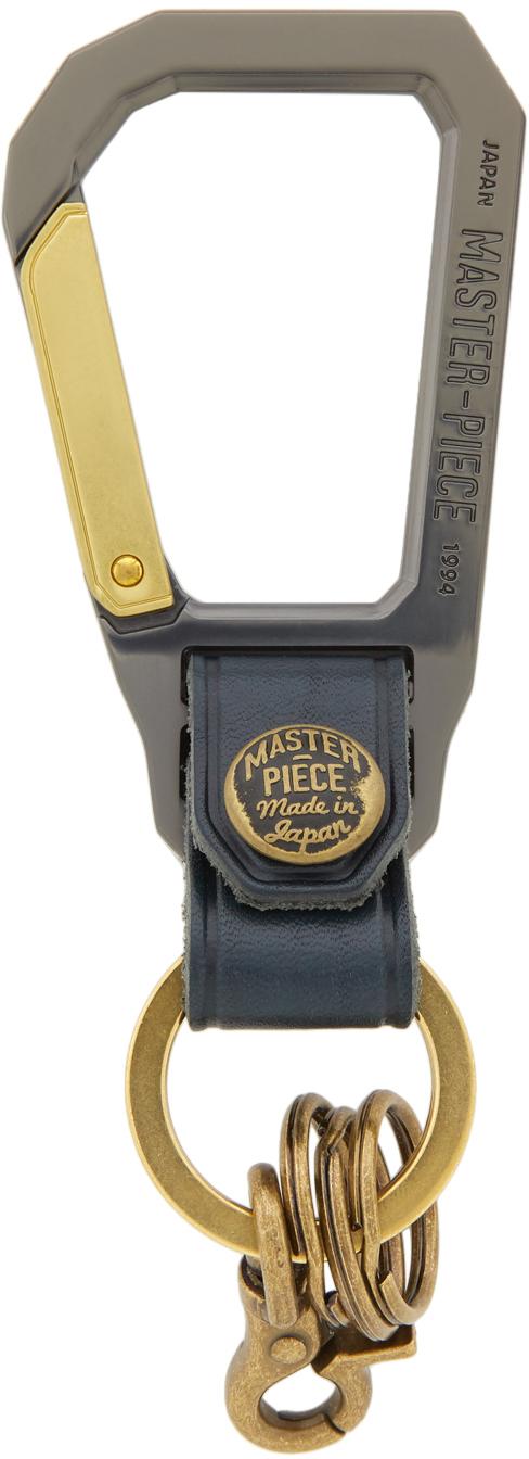 Navy Carabiner Keychain