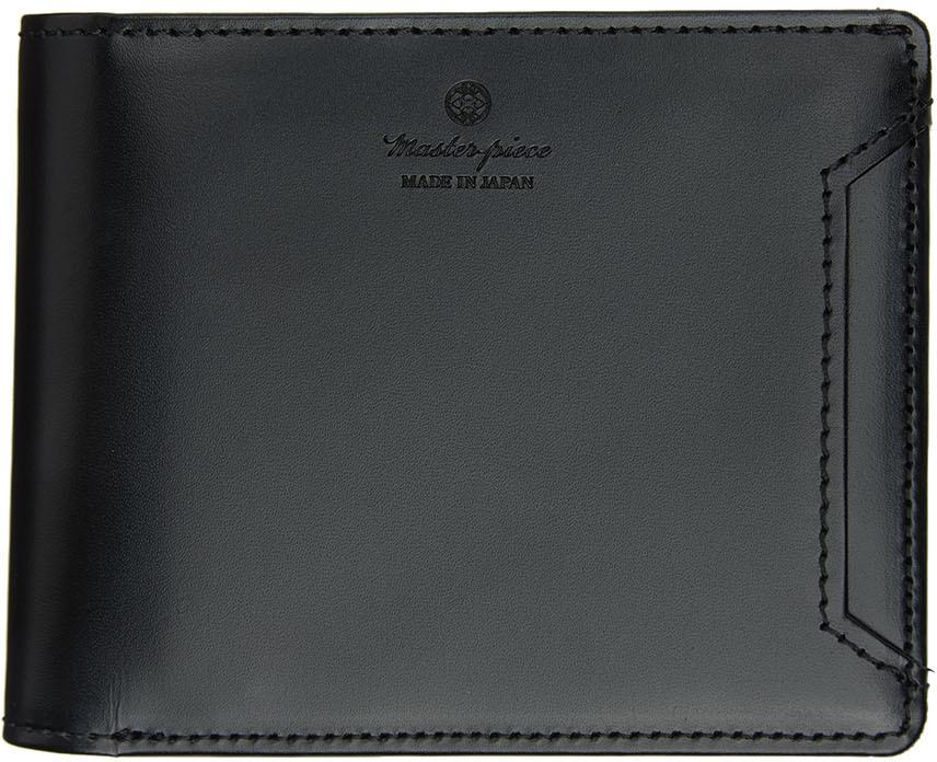 Black Notch Bifold Wallet