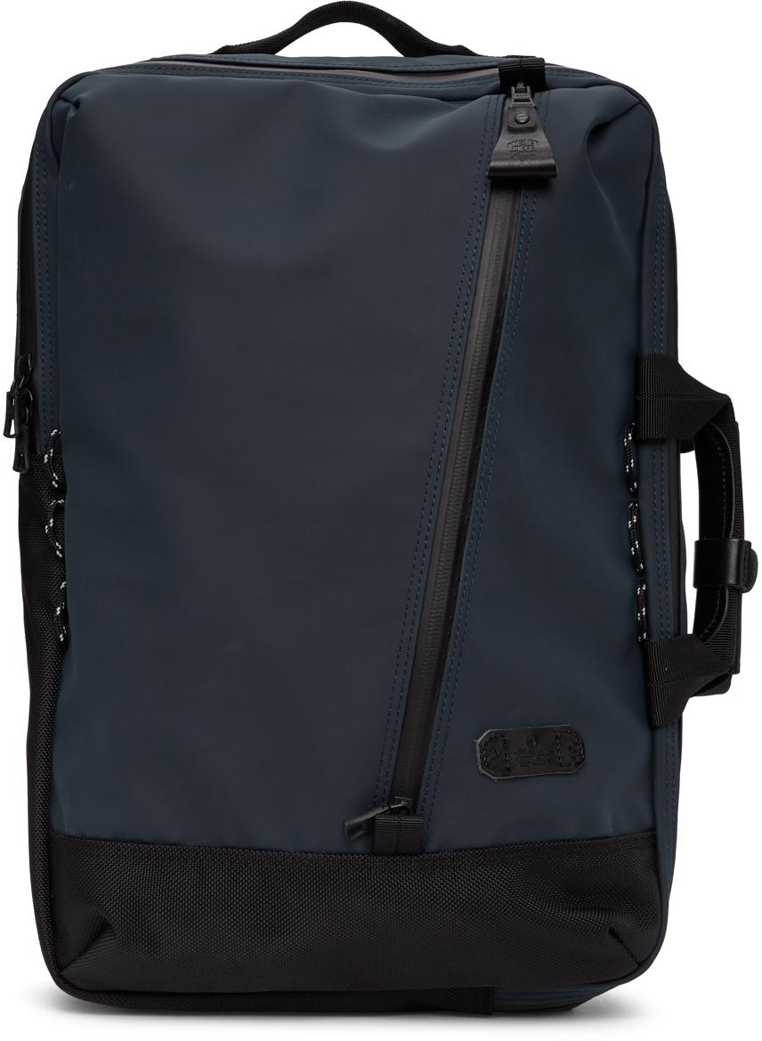 Navy Slick Backpack