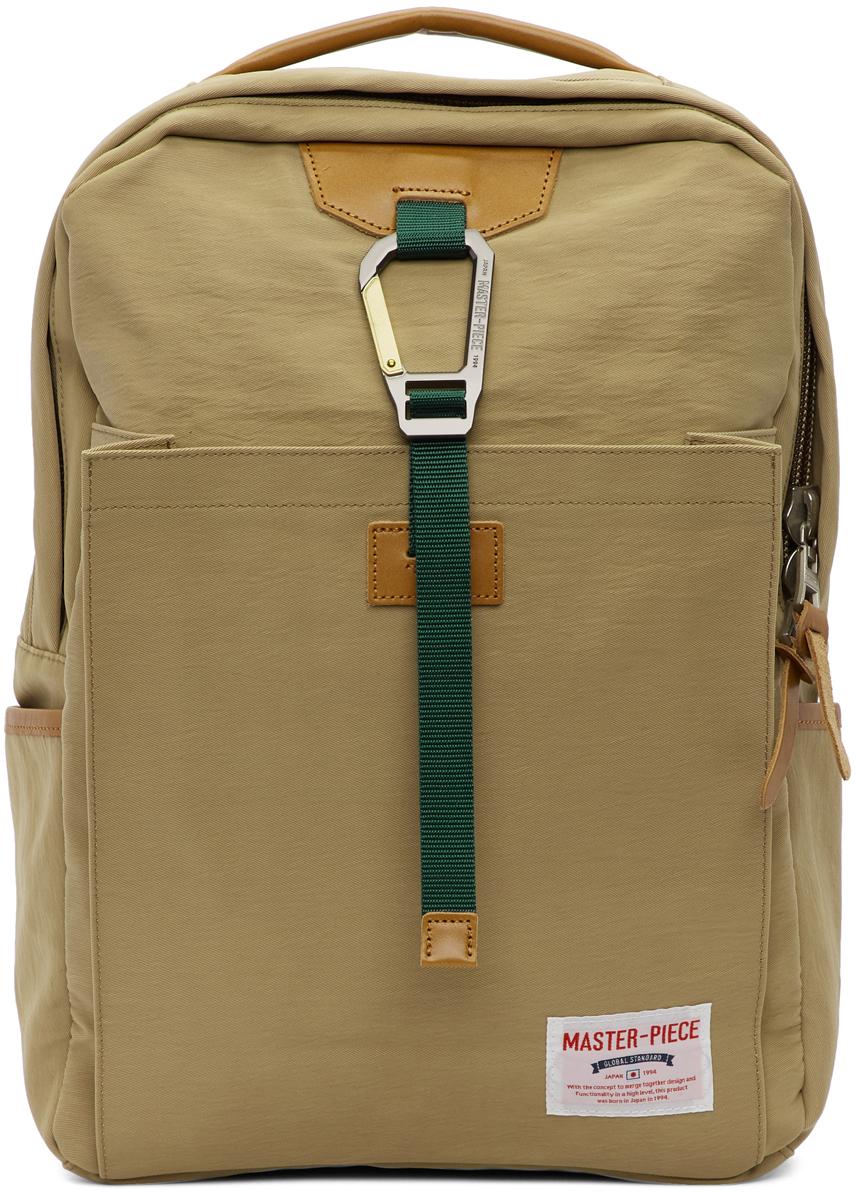 Beige Link Backpack
