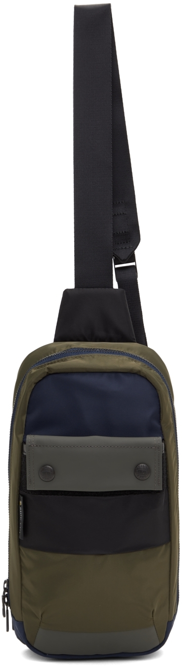 Khaki & Navy Age Backpack