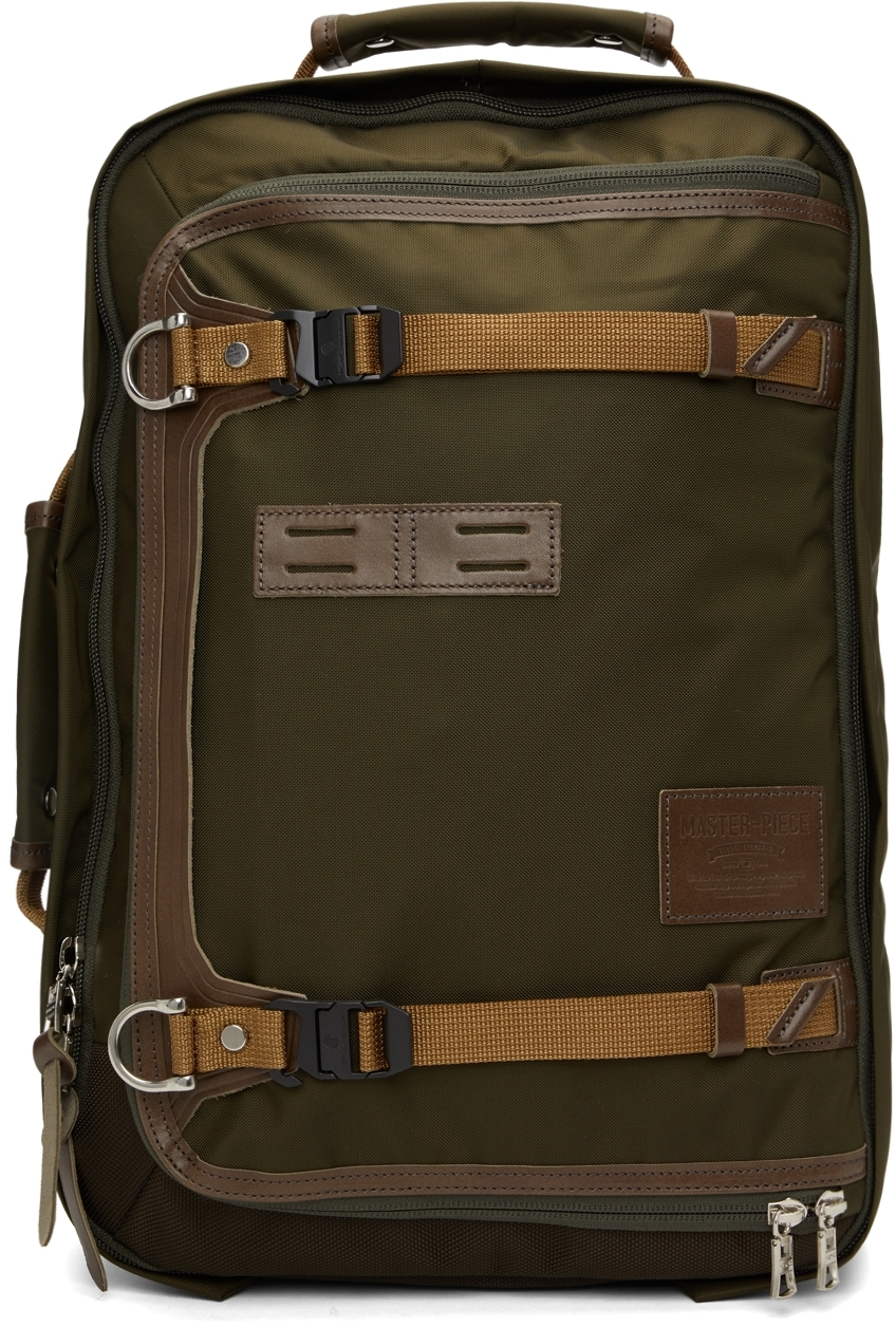 Khaki Potential Two-Way Backpack