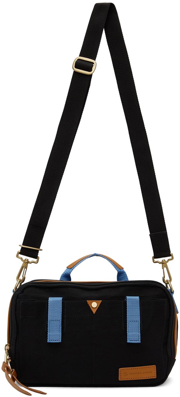 Black Link Shoulder Bag