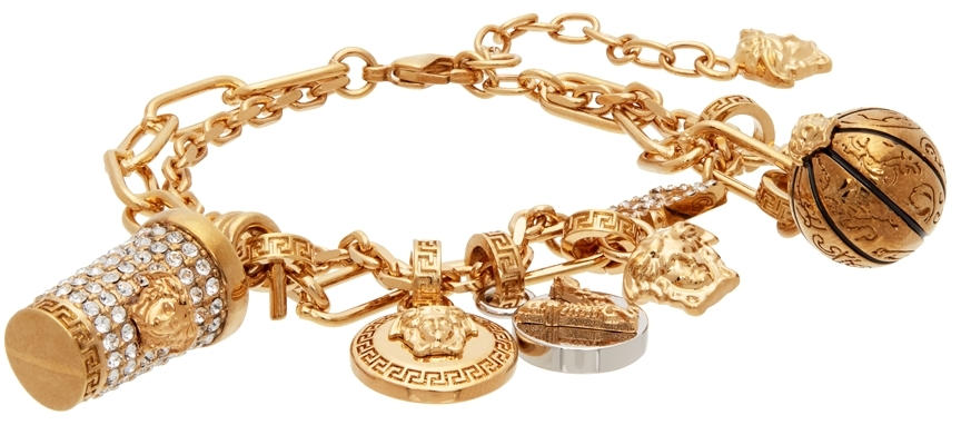 Gold Charms Anklet
