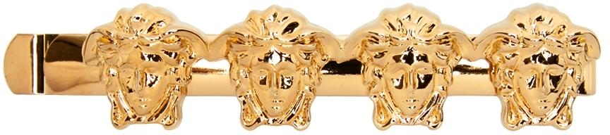 Gold 'La Medusa' Left Hair Pin