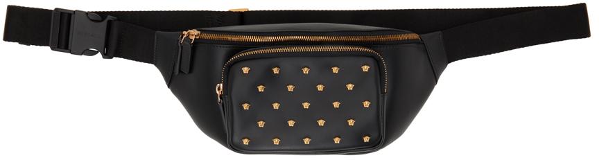 Black Medusa Stud Belt Bag