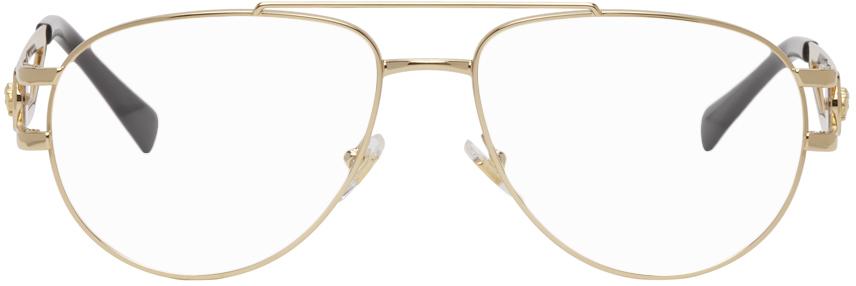Gold Rock Icons Medusa Glasses