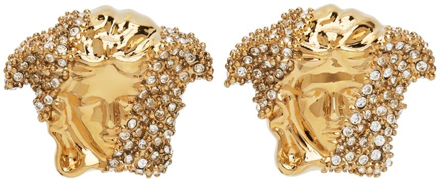 Gold Palazzo Dia Earrings