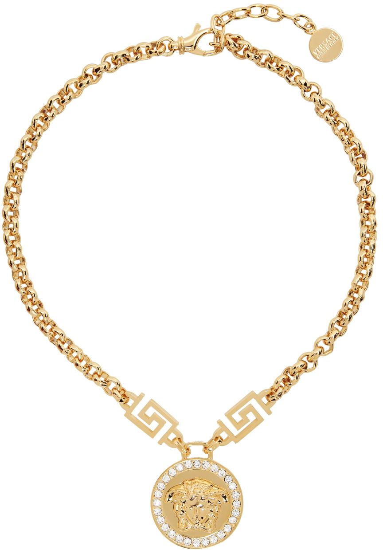 Gold Medusa Icon Necklace
