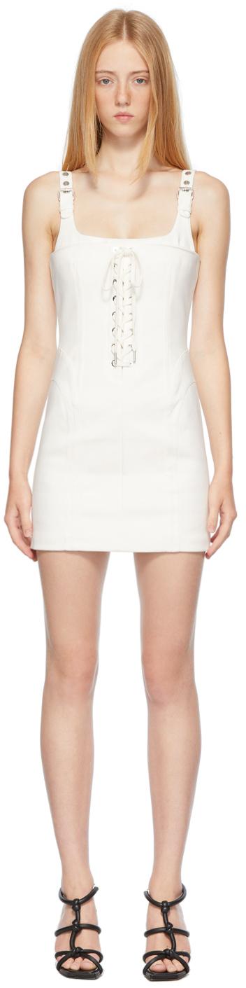 Off-White Contour Stitch Dress