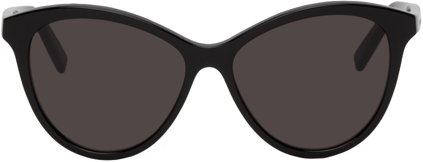 Black SL 456 Cat-Eye Sunglasses