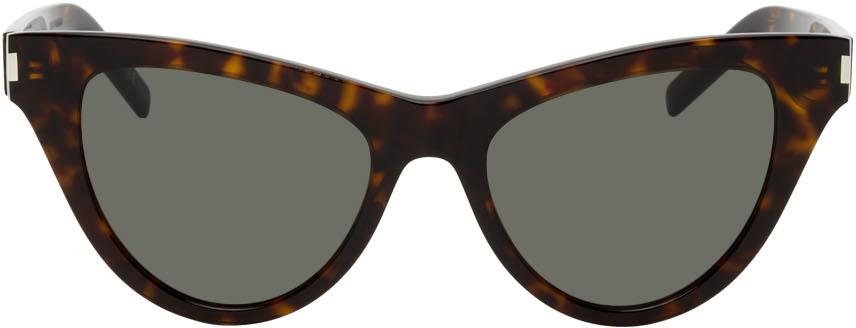 Tortoiseshell SL 425 Cat Eye Sunglasses