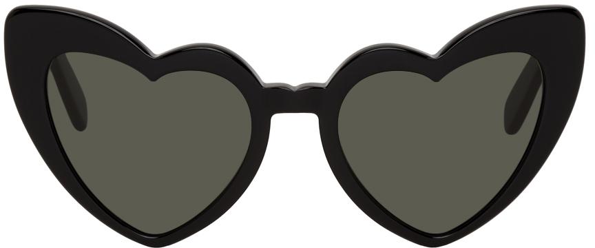 Black SL 181 Loulou Sunglasses