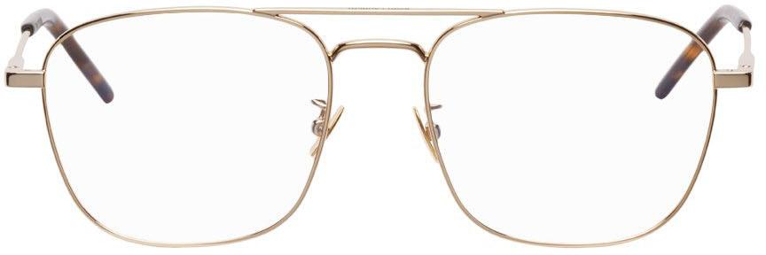 Gold SL 309 Square Glasses