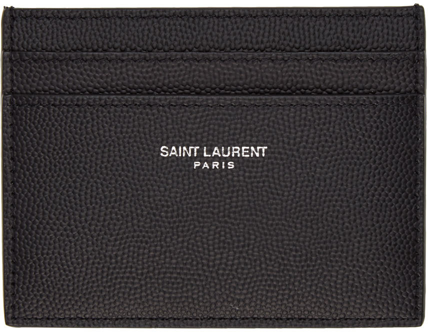 Black Logo Card Holder