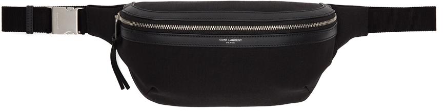 Black Canvas Classic Belt Bag