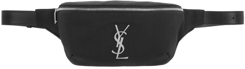 Black Classic Monogram Belt Bag