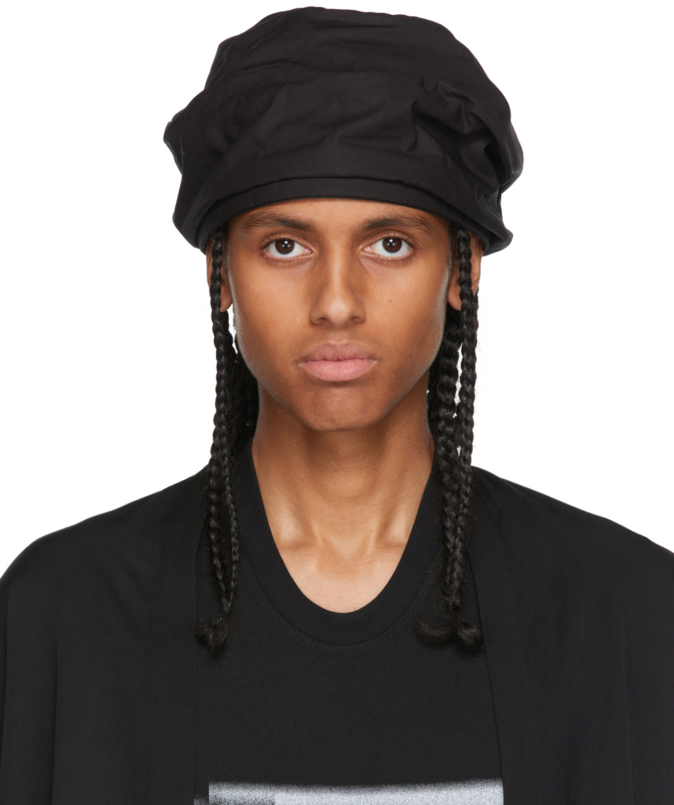 Black Drape Cap