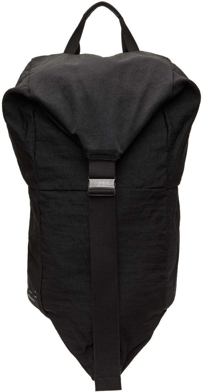 Black 2-Way Strap Backpack