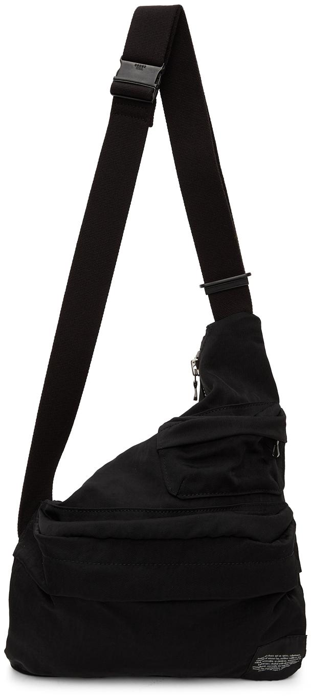 Black Cross Messenger Bag