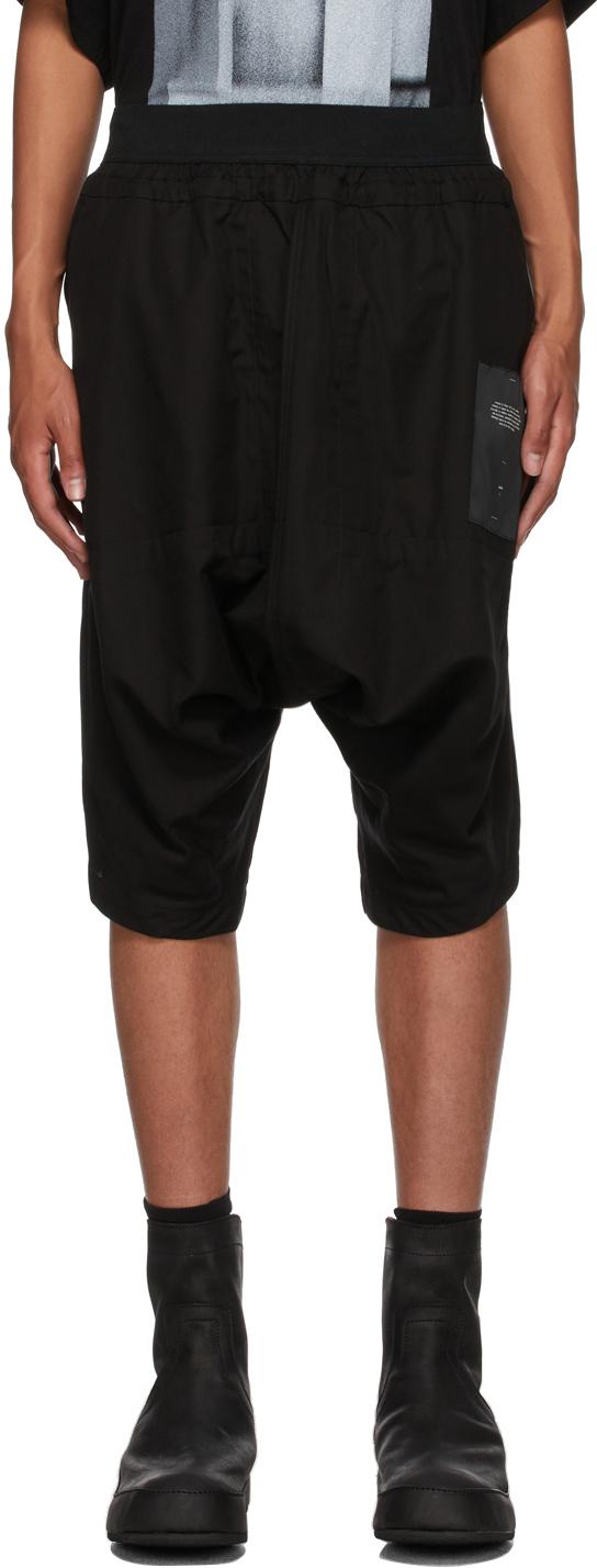 Black Saruel Shorts